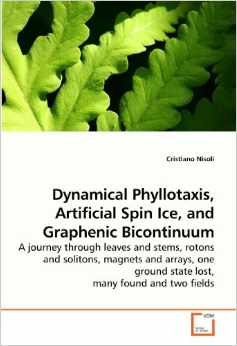 Dynamical Phyllotaxis, Artificial Spin Ice, and Graphenic Bicontinuum: A journey through leaves and stems, rotons and solitons, magnets and arrays, one ground state lost, many found and two fields