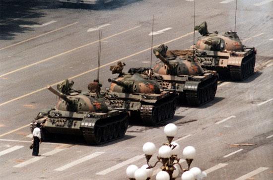 Tiananmen Square Protester