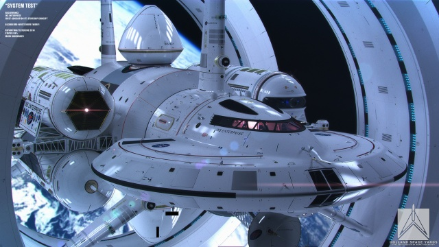 NASA Alcubierre Starship